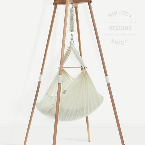 Organic Baby Hammock & Beechwood Stand, Natures Sway