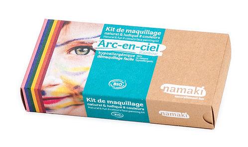 Organic Face Paint Kit Rainbow, Namaki