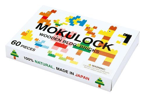 Wooden Bricks (60 pieces), Mokulock - Made by Nature | Dubai