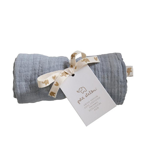 Nooshi Cuddle Elephant Organic Cotton, Petit Stellou