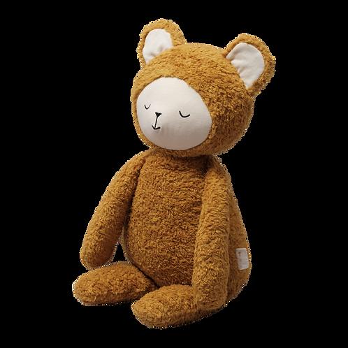 Bib Buddie Bear Organic Toy - Fabelab