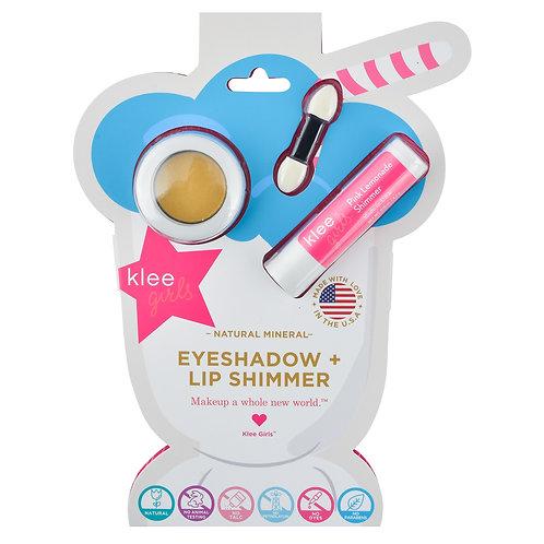 Natural Blush & Organic Lip Shimmer - Cotton Candy Glow, Klee Naturals