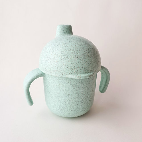 Wheat Fiber Sippy Cup - Sea Green, Dove and Dovelet