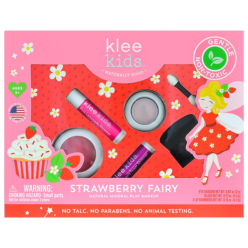 Natural Play Makeup Set - Strawberry Fairy, Klee Naturals