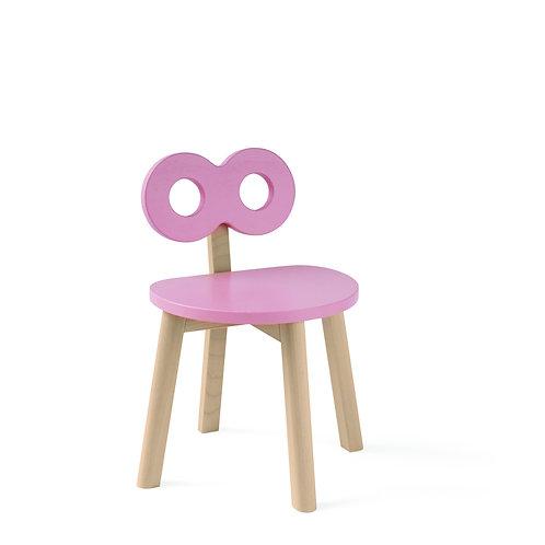 Double-O Chair Pink, Ooh noo