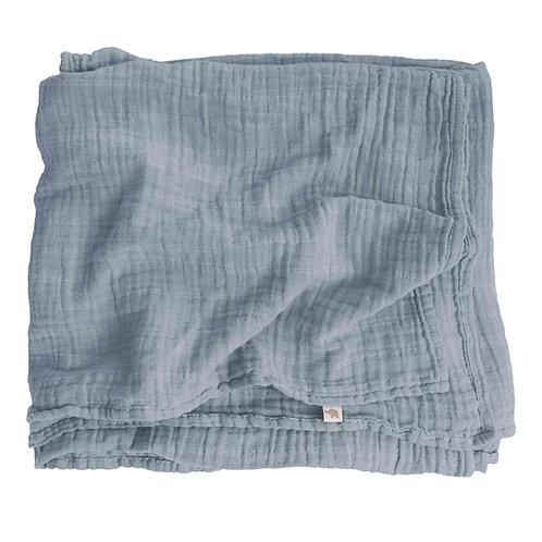 Nooshi Blanket Elephant Organic Cotton, Petit Stellou
