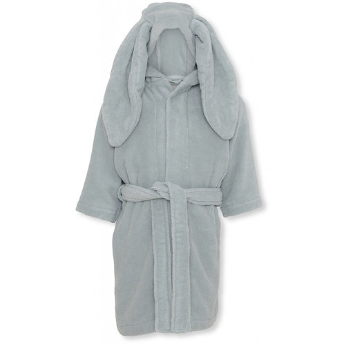 Organic Cotton Kids Bathrobe French Blue, Konges Slojd