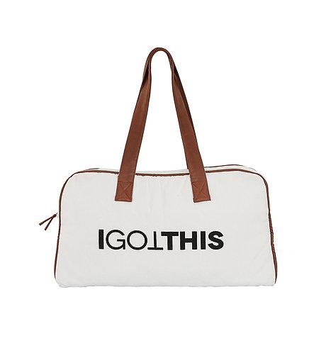 I GOT THIS - organic cotton & faux leather bag, Ooh Noo