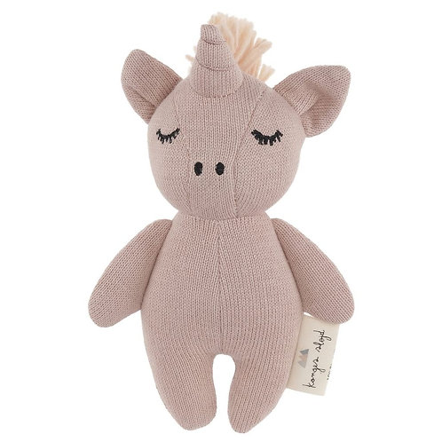 Organic Cotton Mini Unicorn Rose, Konges Slojd