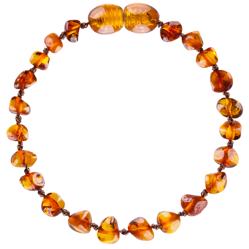 Premium Amber Bracelet Cognac, Amberos