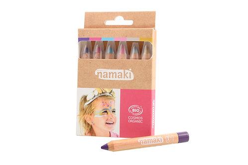 Organic Skin Color Pencils Rainbow, Namaki