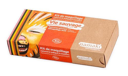 Organic Face Paint Kit Wildlife, Namaki