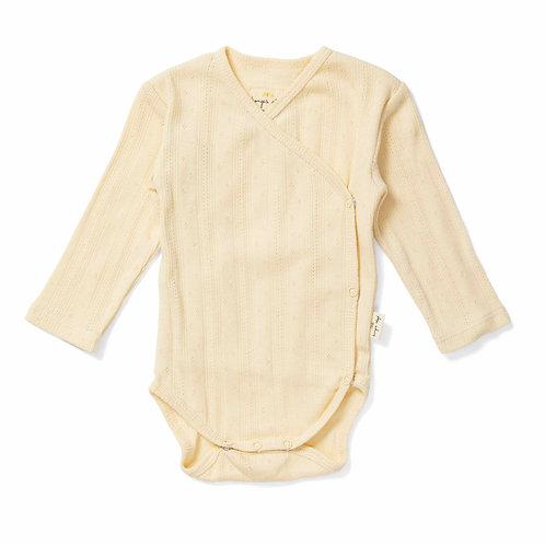 Organic Cotton Bodysuit Lemon Sorbet, Konges Slojd