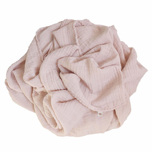 Nooshi Blanket Blush Organic Cotton, Petit Stellou