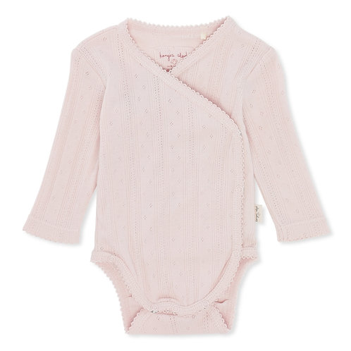 Organic Cotton Bodysuit Lavender Mist, Konges Slojd