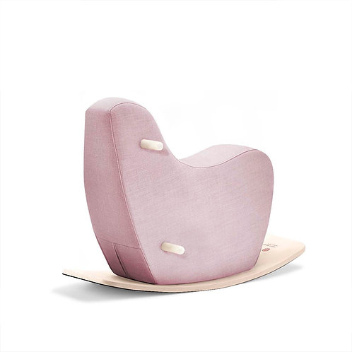 Toddler Rocking Horse Pale Pink, Ooh Noo