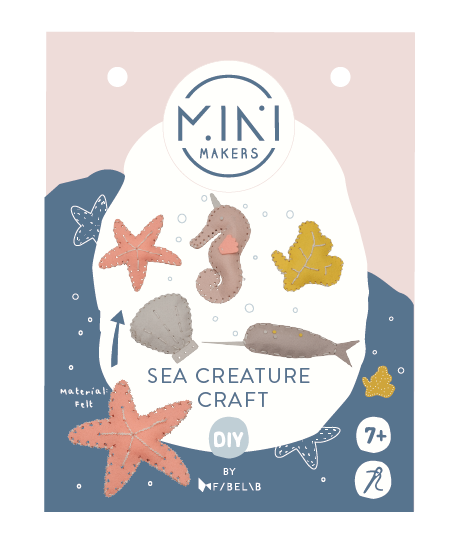 Sea Creature Craft Kit, Mini Makers by Fabelab