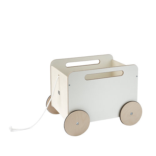 Toy Chest on wheels White, Ooh Noo