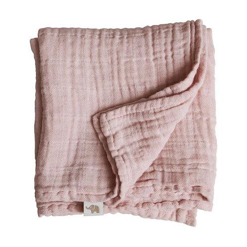 Nooshi Blanket Fleur Organic Cotton, Petit Stellou