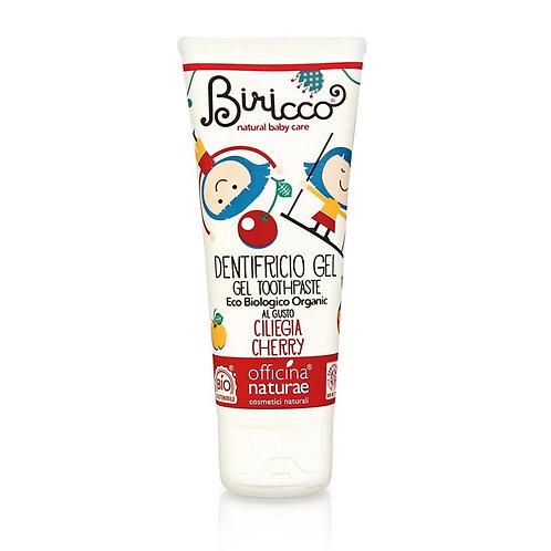 Kids Organic Toothpaste Cherry flavor, Biricco by Officina Naturae