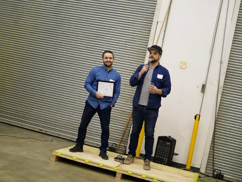 Stoko founders Scott Morgan (left) and Zack Eberwein (right)
