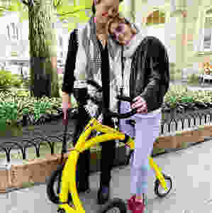 March: Selma Blair was seen multiple times this year using the Alinker, a three wheeled bike created to help those with mobility/ability issues maintain a full and active life. Founder BE Alink designed the device to challenge society's assumptions about disability, simultaneously empowering users whilst inspiring social change.   Read more about Selma and The Alinker here and here and here.   The Alinker is graduate of entrepreneurship@UBC's Social Venture Incubator program.