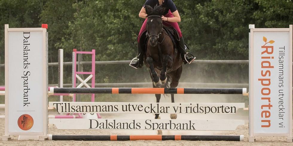 Hopptävling häst