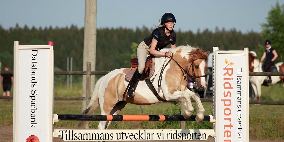 Hopptävling div I ponny