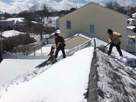 Yes we do Roofing Snow Removal in Massachusetts