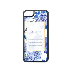iPhone 8 case -Blue Rose-