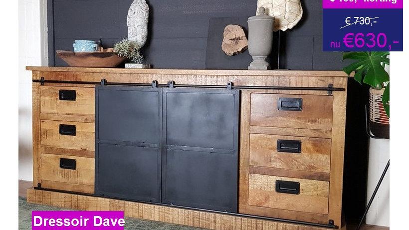 """Industrieel dressoir """"Dave"""""""
