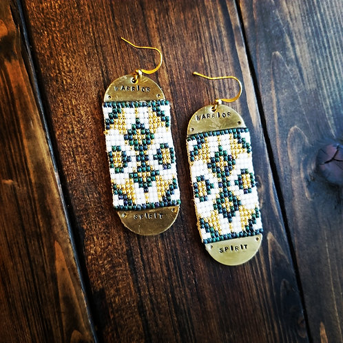 """""""Warrior Spirit"""" Earrings"""