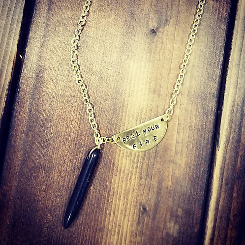 Custom Hand Stamped Necklace