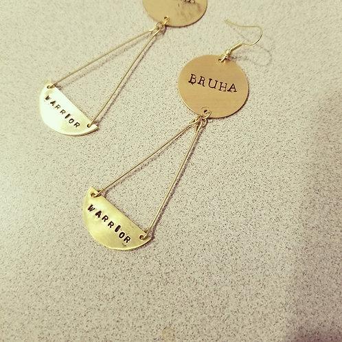 """""""BRUHA Warrior"""" Earrings"""