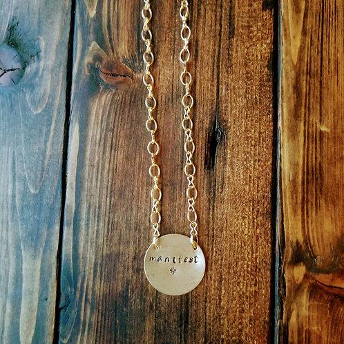 """Manifest"" Necklace"