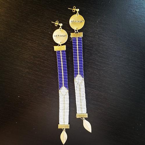 Manifest Beaded Earrings