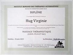 diplôme massage5