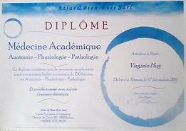 diplôme massage1