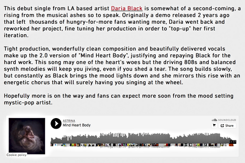 Nu Music News - Mind Heart Body Review.p