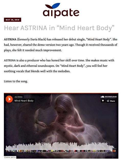 Apiate - Mind Heart Body Review