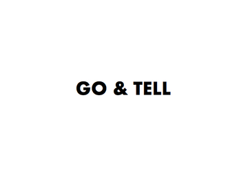 Go, Tell, Trust, Wait | 4 Lessons from Session