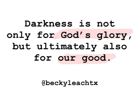 The Secret About Darkness