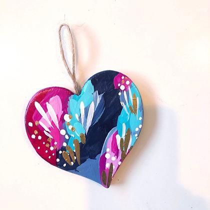 Heart Christmas Ornament #1
