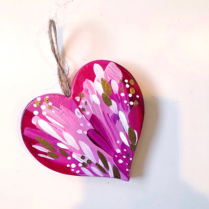 Heart Christmas Ornament #3