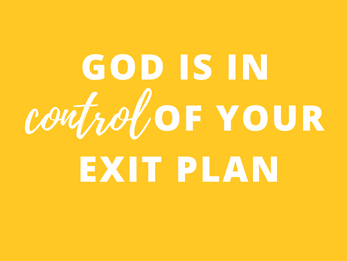 The Master of the Exit Plan