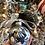Thumbnail: Glass Ornament - Navy 3