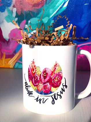 Coffee Mug / Abide in Jesus