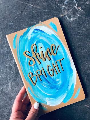 Medium Moleskin | Shine Bright