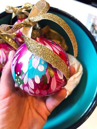 Glass Christmas Ornament #9
