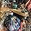 Thumbnail: Glass Ornament - Navy 2